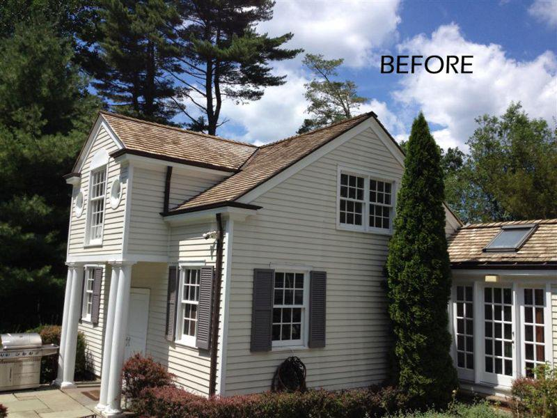 Fairfield Cedar Roof Cleaning