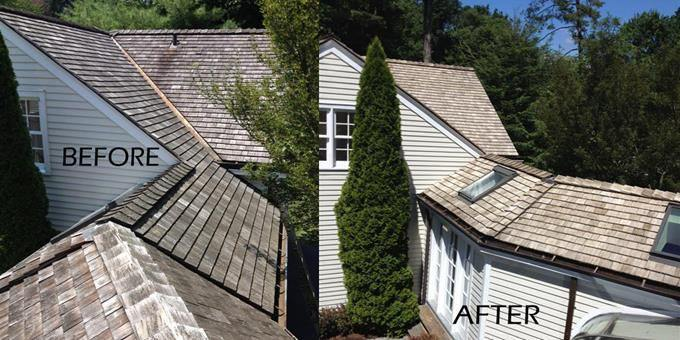 Fairfield County Roof Cleaning Slideshow