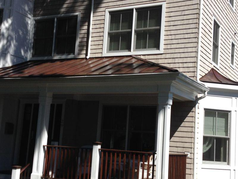 Copper Roof Cleaning Amp Sealing On Forest Ave In Fairfield Ct