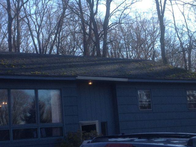 Newtown Winter Roof Softwash Fairfield County Roof Cleaning